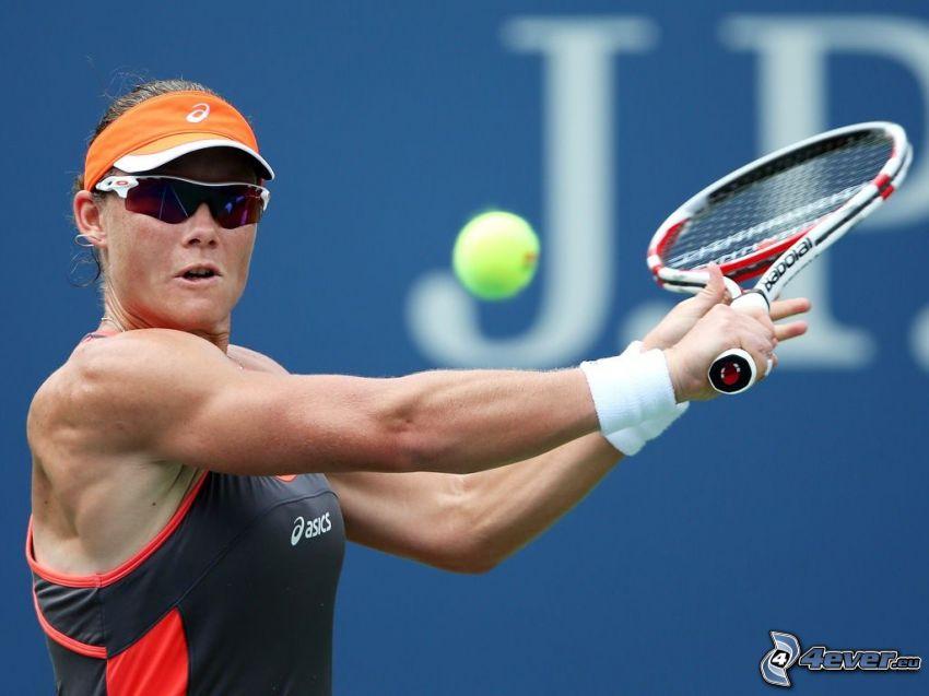 Samantha Stosur, jugadora de tenis, juego