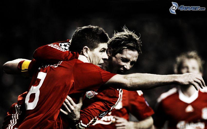 Steven Gerrard, Fernando Torres, partido