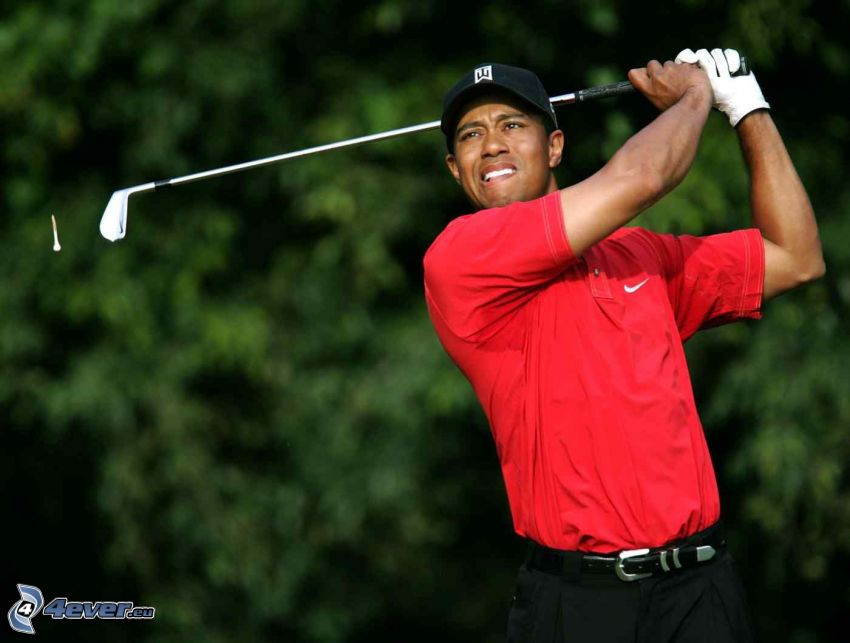 Tiger Woods, Golfista