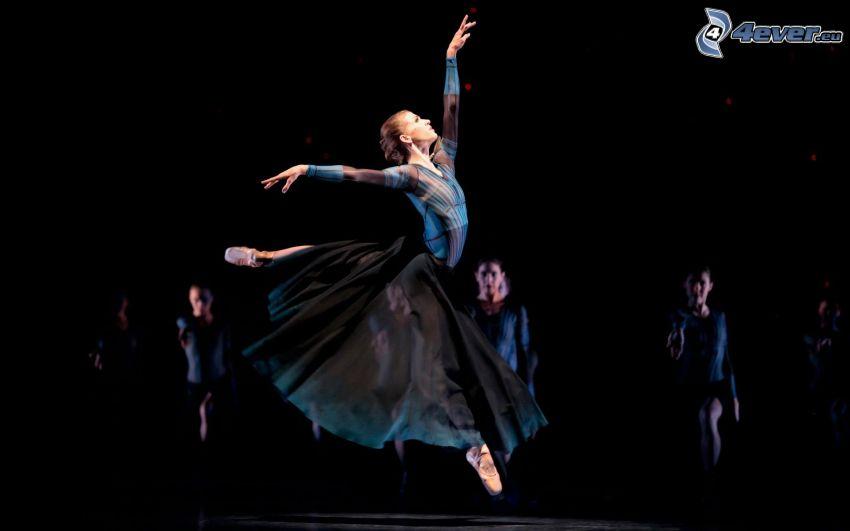 bailarinas, salto