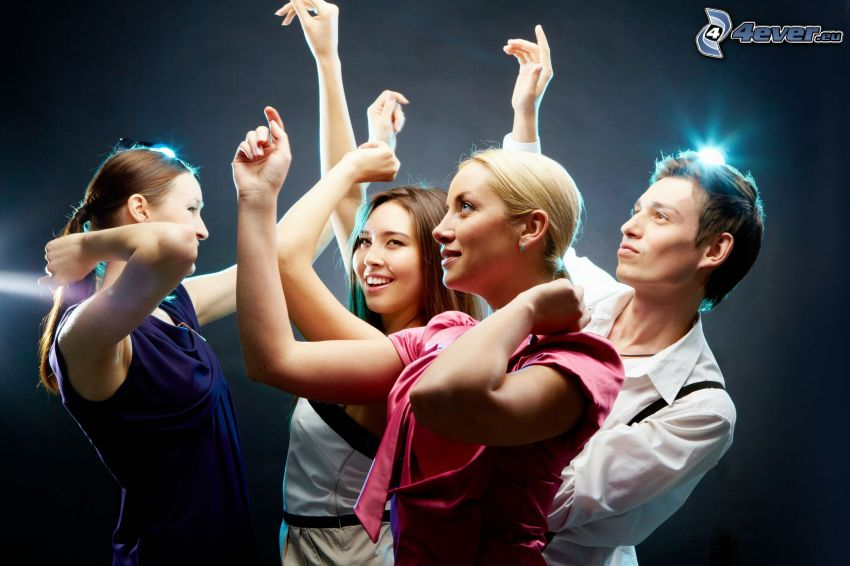baile, personas