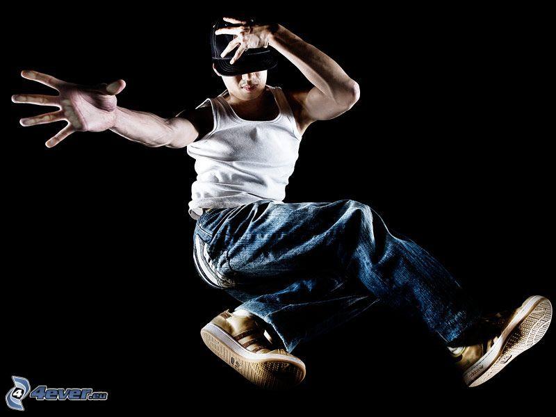 breakdance, arte, bailarín