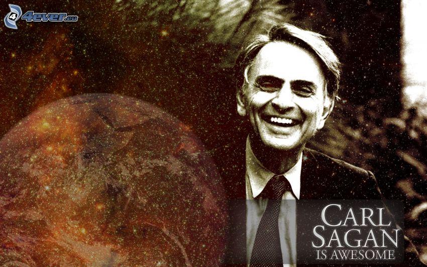 Carl Sagan, universo