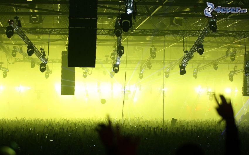 concierto, megafiesta