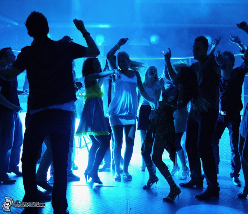 discoteca, baile