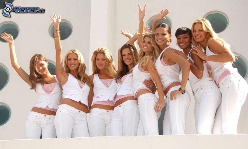 modelos, mujeres