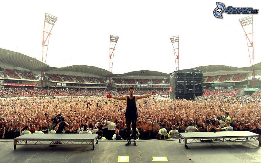 30 Seconds to Mars, concierto, megafiesta