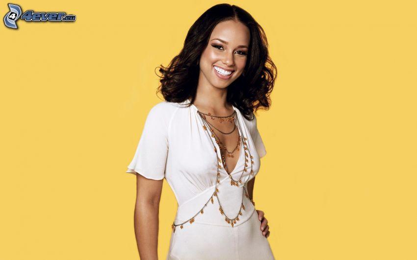 Alicia Keys, sonrisa