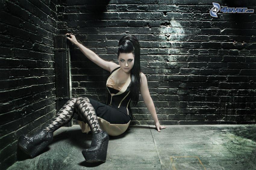 Amy Lee, pared de ladrillo