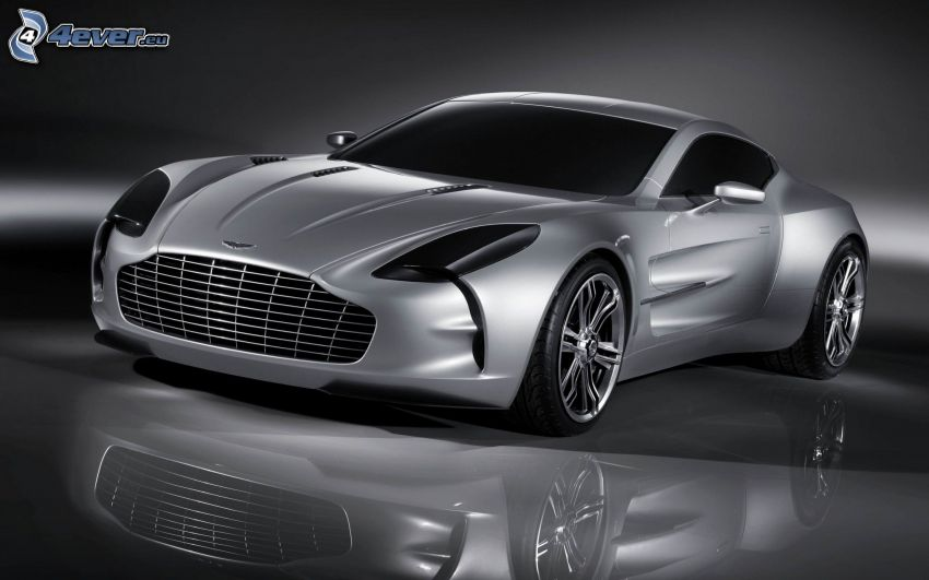 Aston Martin One 77, reflejo