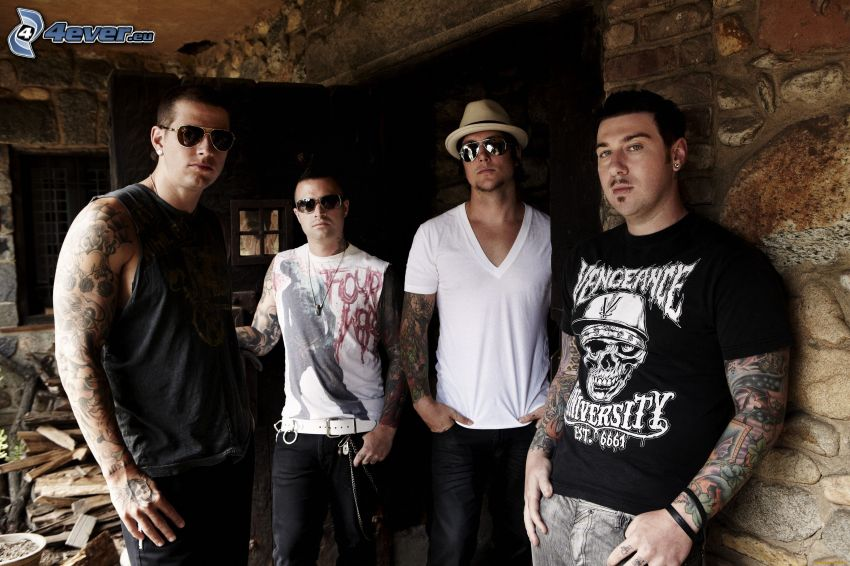 Avenged Sevenfold, chico tatuado