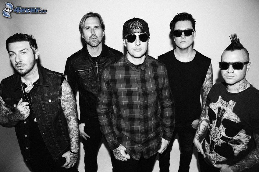 Avenged Sevenfold, Foto en blanco y negro