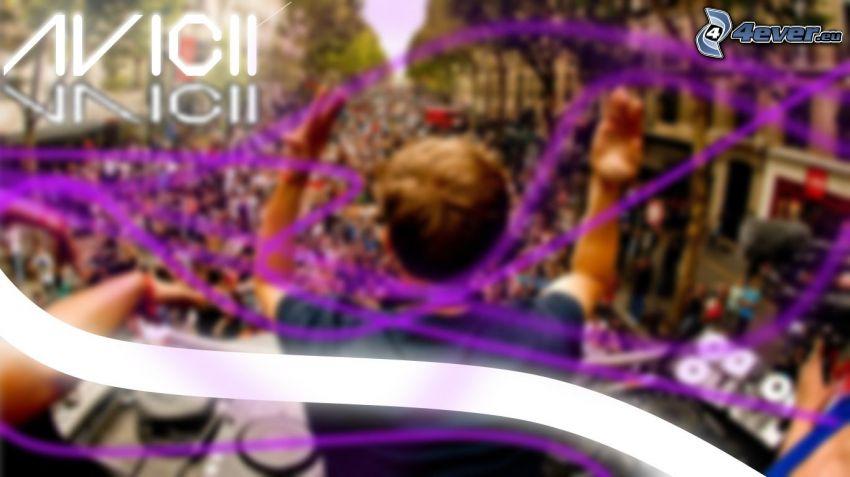 Avicii, DJ, concierto