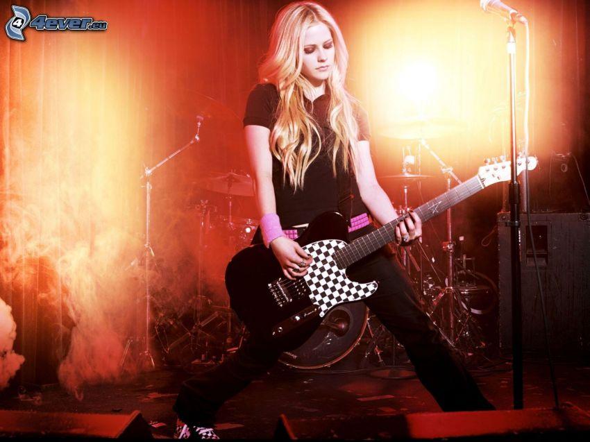 Avril Lavigne, concierto