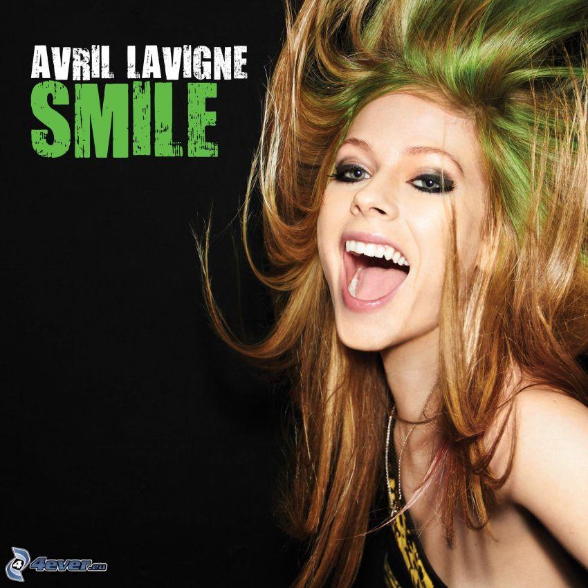 Avril Lavigne, smile