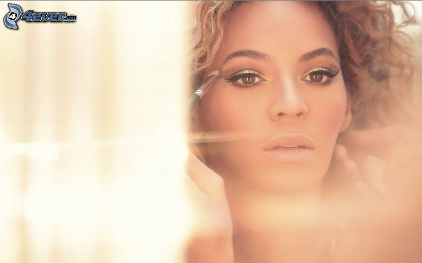 Beyoncé Knowles, make-up