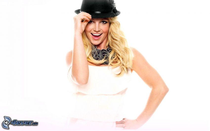 Britney Spears, chica con sombrero