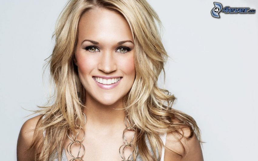 Carrie Underwood, sonrisa