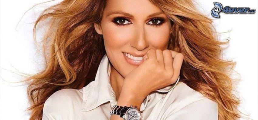 Celine Dion, sonrisa