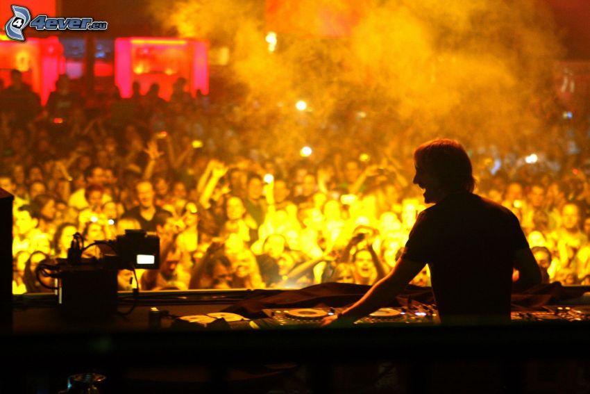 David Guetta, DJ, concierto
