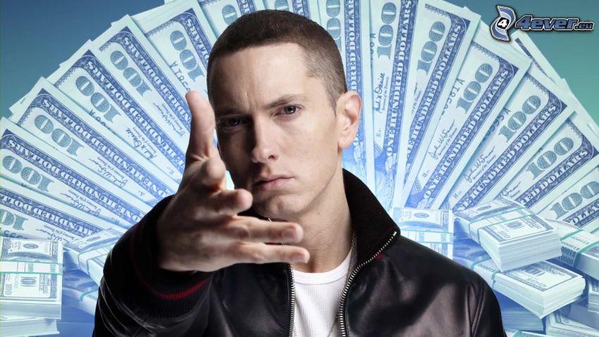 Eminem, dólares