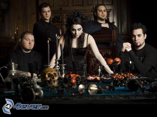 Evanescence, gothic metal
