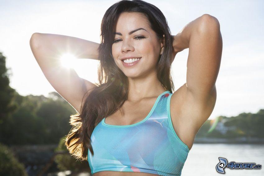Fernanda Brandao, sonrisa, sol