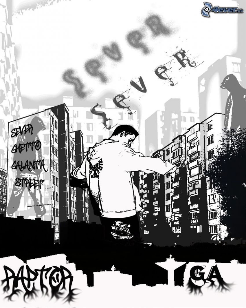 hip hop, barrio residencial