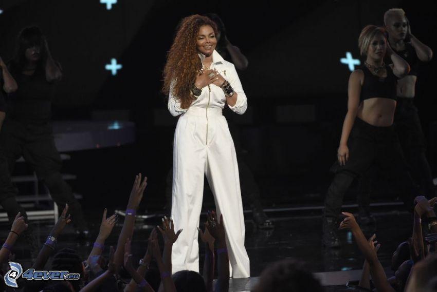 Janet Jackson, apariencia, concierto