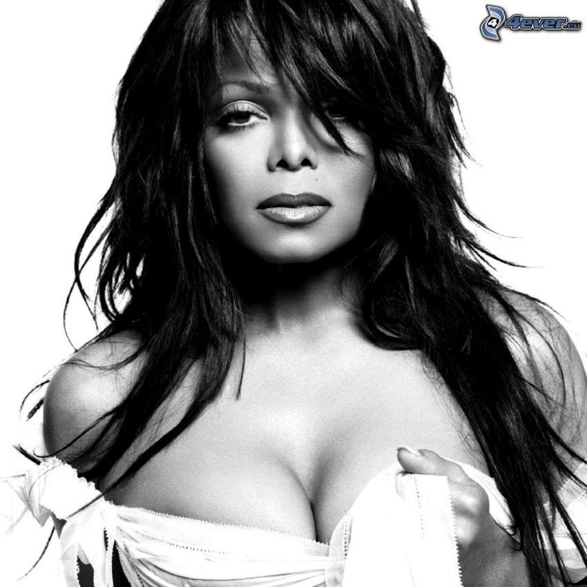 Janet Jackson, Foto en blanco y negro