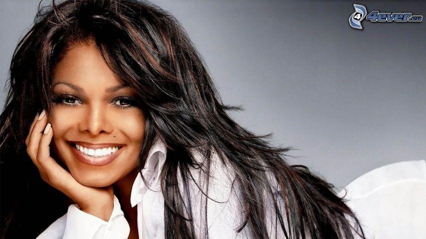 Janet Jackson, sonrisa