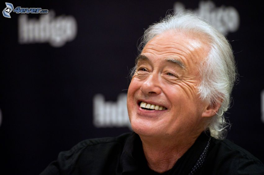 Jimmy Page, Guitarrista, risa