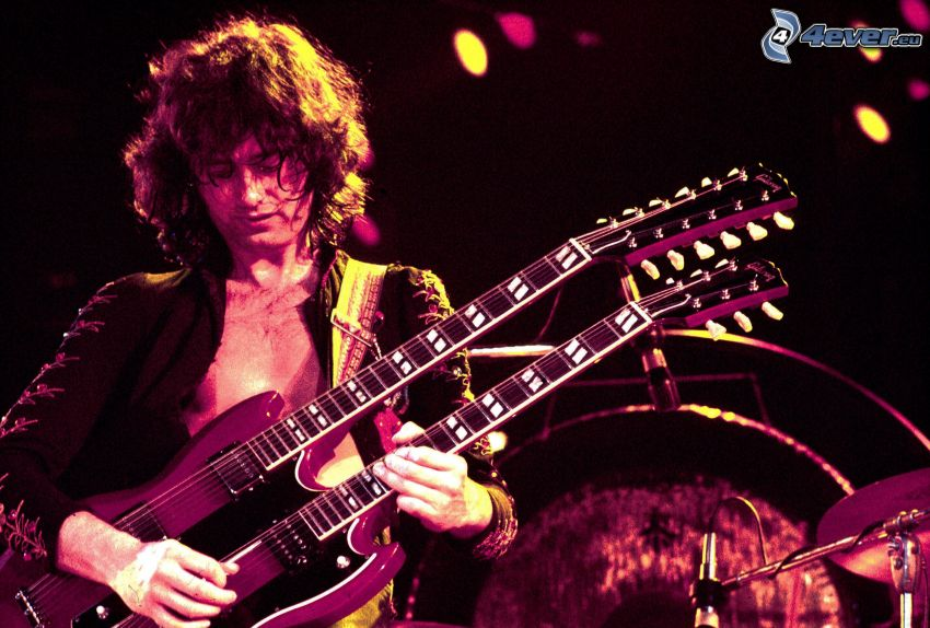 Jimmy Page, Guitarrista