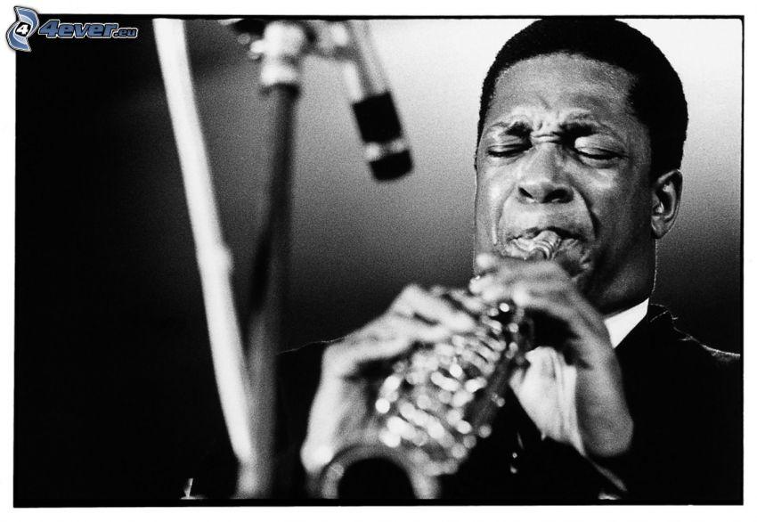 John Coltrane, Jazz, trompeta