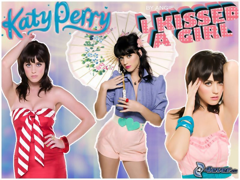 Katy Perry, chica sexy, cantante, I kissed a Girl
