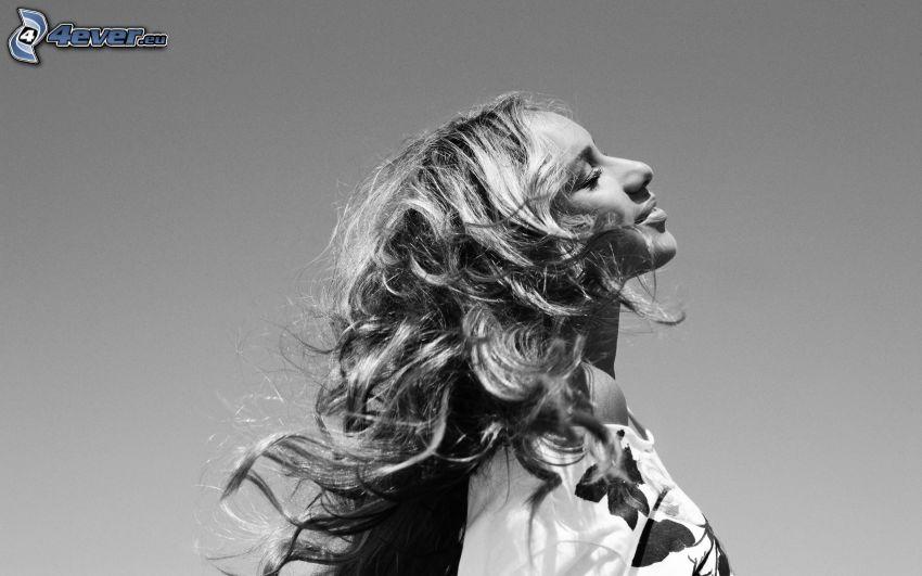 Leona Lewis, Foto en blanco y negro