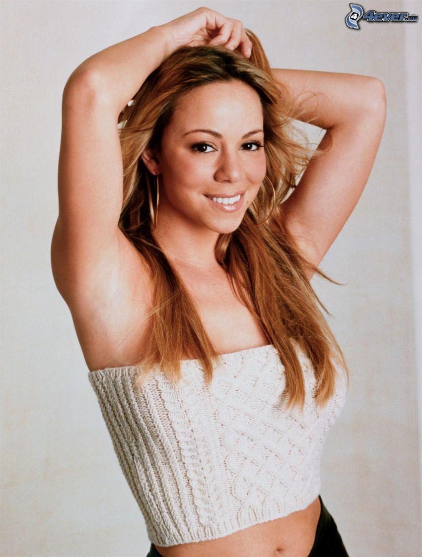 Mariah Carrey, sonrisa