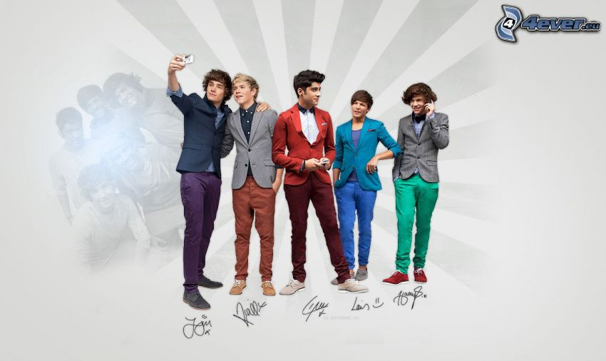 One Direction, Louis Tomlinson, Liam Payne, Niall Horan, Harry Styles, Zayn Malik