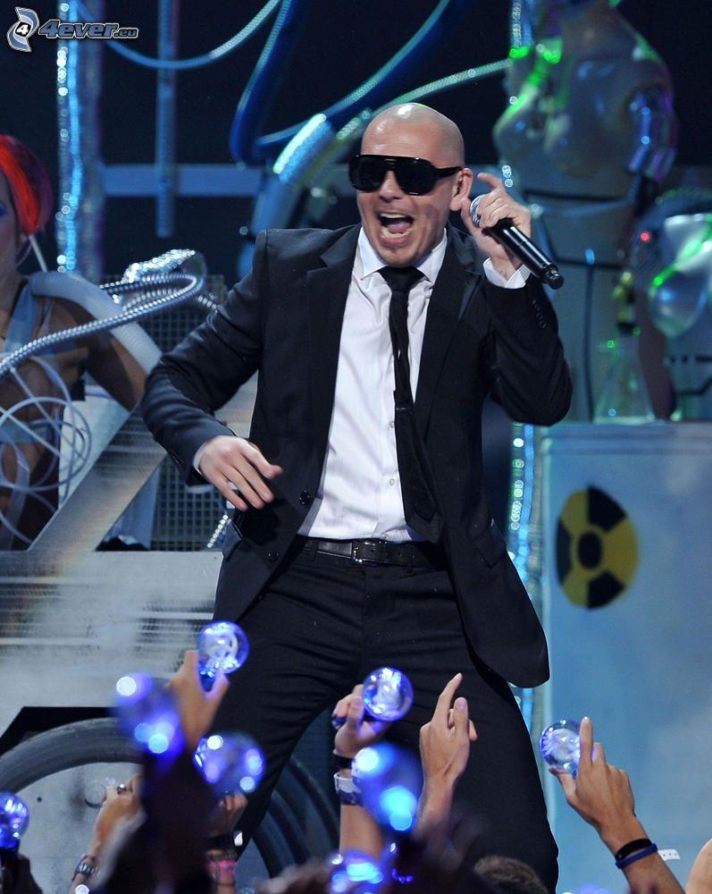 Pitbull, concierto, canción