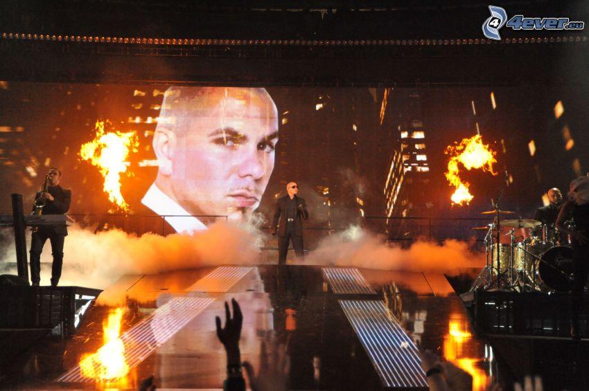 Pitbull, concierto