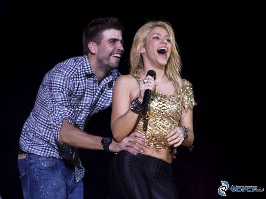 Shakira, cosquillas, risa