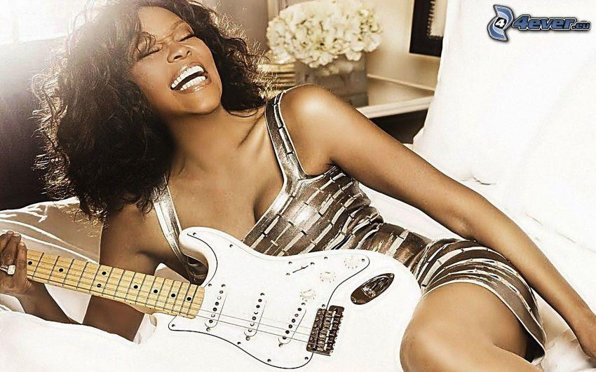 Whitney Houston, Guitarra Eléctrica