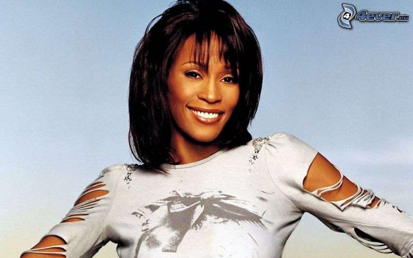 Whitney Houston, sonrisa