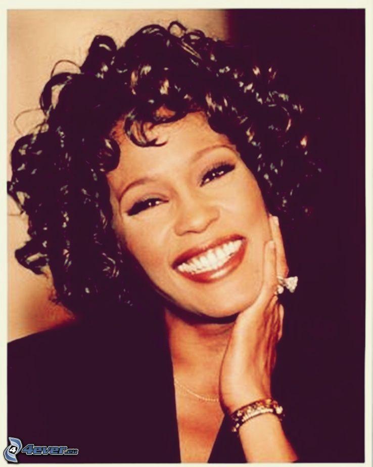 Whitney Houston, sonrisa