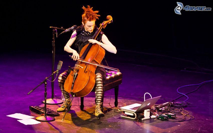 Zoë Keating, violonchelo, concierto