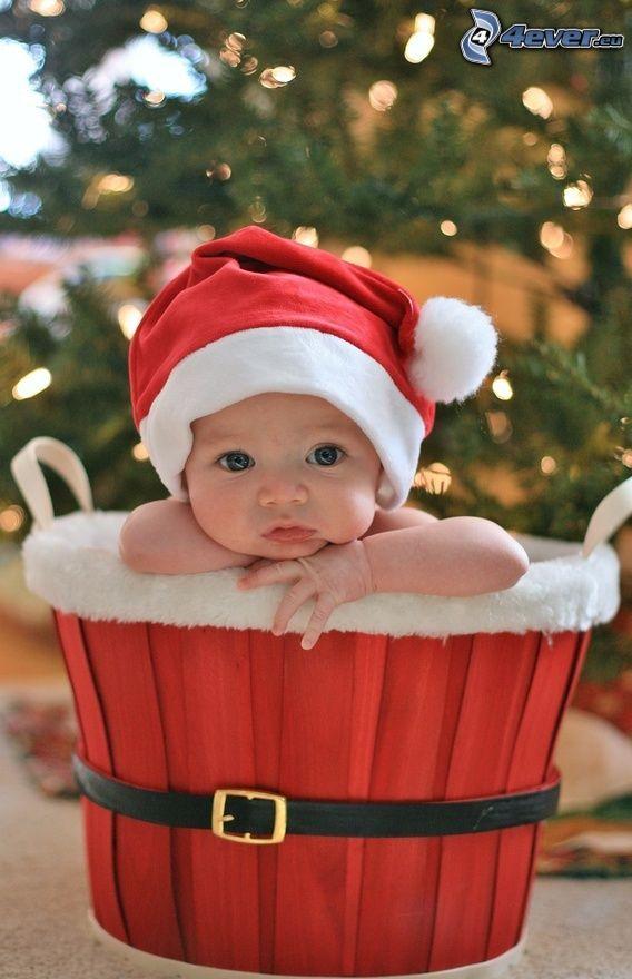 bebé, navidad