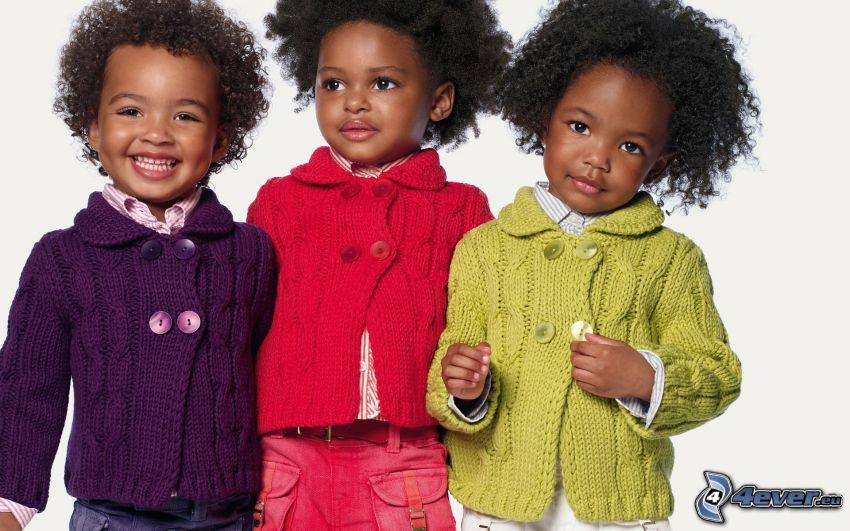 chicas, negra