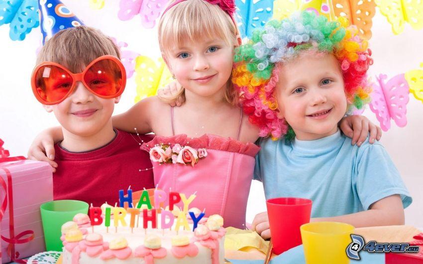 niños, celebración
