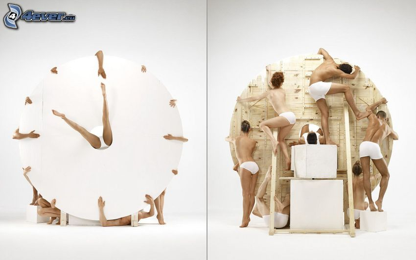 tiempo, personas, arte