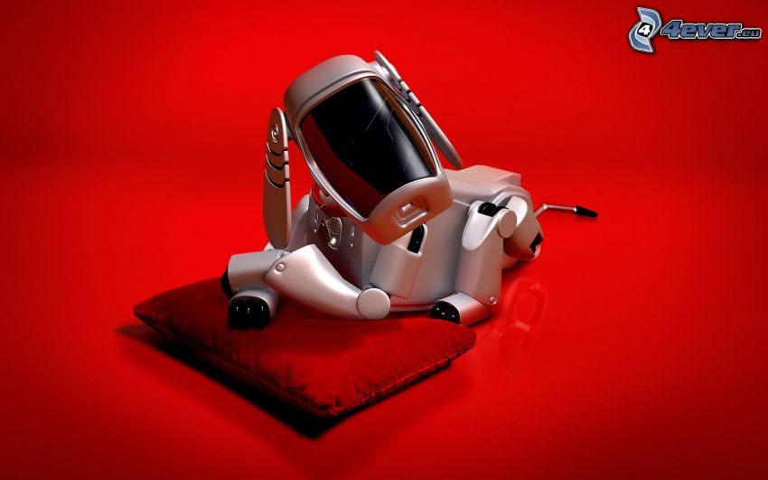 animal mecánico, perro, robot
